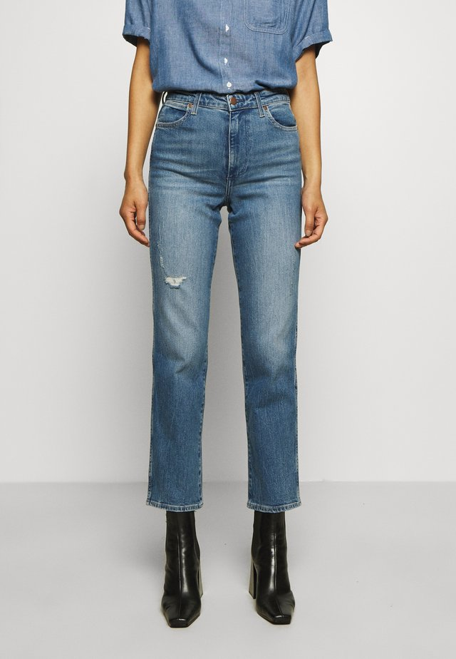 THE RETRO - Jeans straight leg - happy days