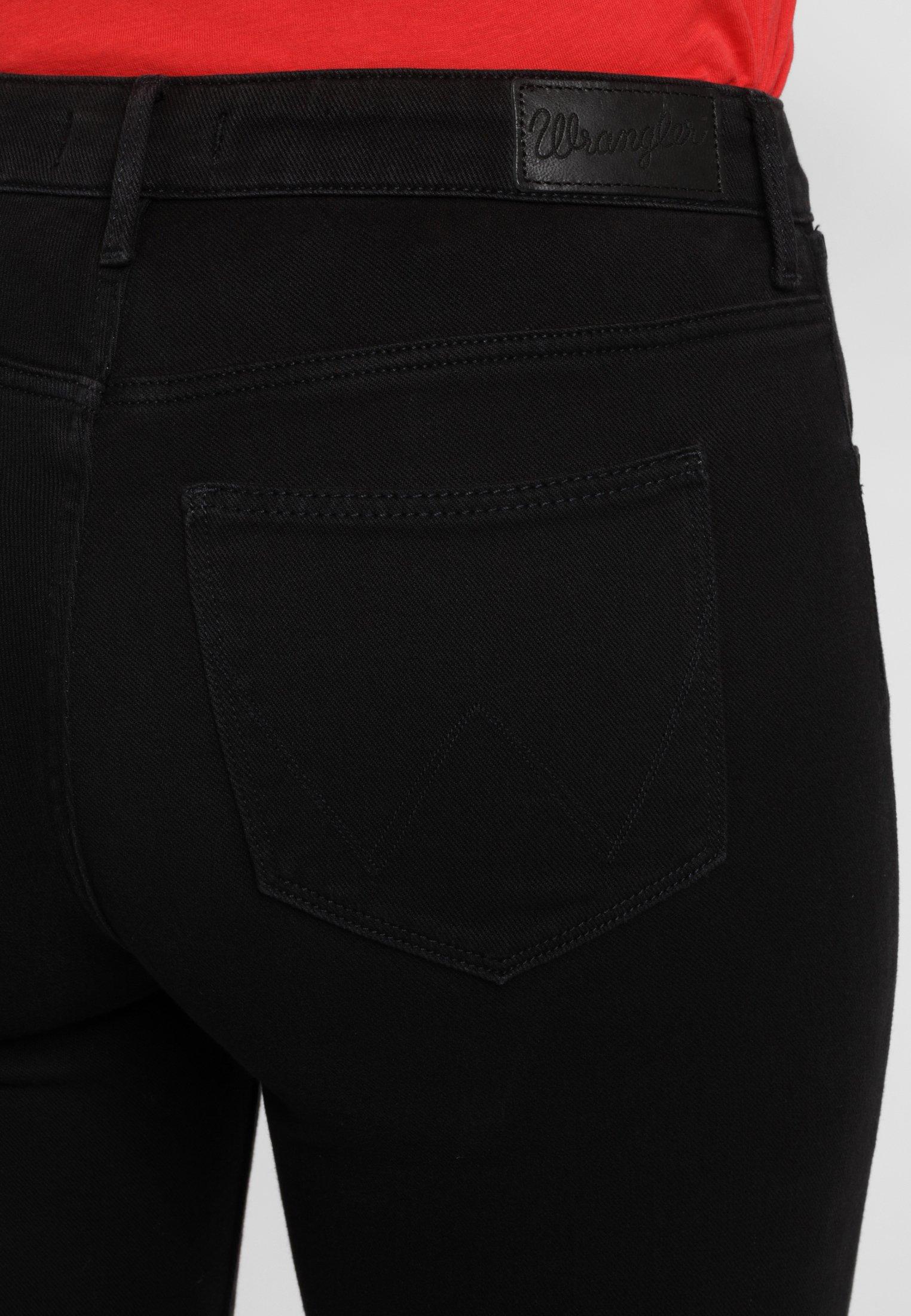 Wrangler Jeansy Skinny Fit - black