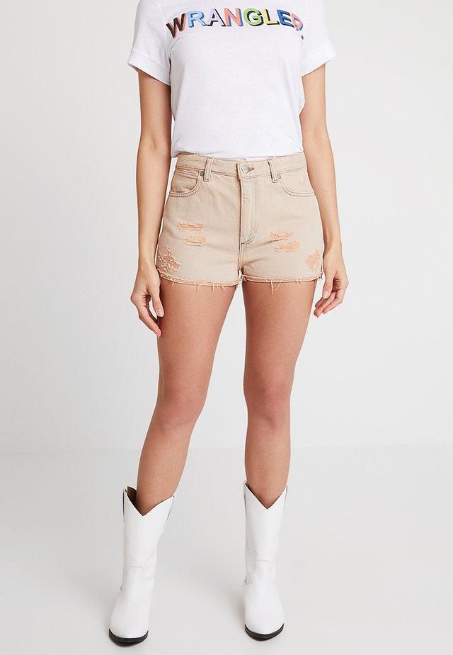 Jeans Shorts - sandy blush