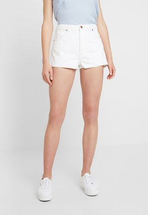 Denim shorts - vintage white