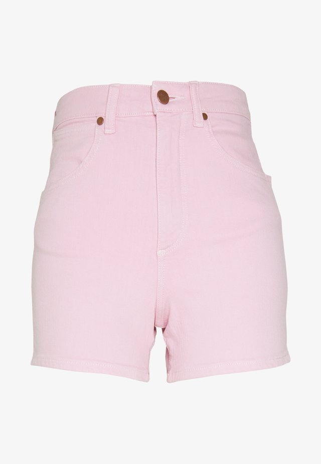MOM - Jeans Short / cowboy shorts - orchid pink