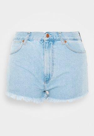 FESTIVAL SHORT - Short en jean - ballad blue