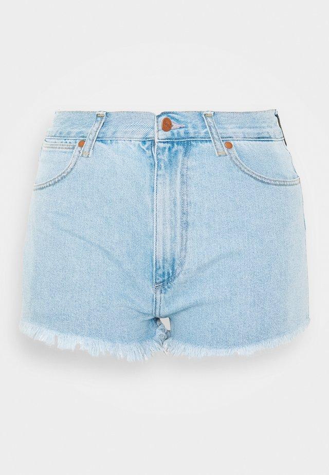 FESTIVAL SHORT - Szorty jeansowe - ballad blue