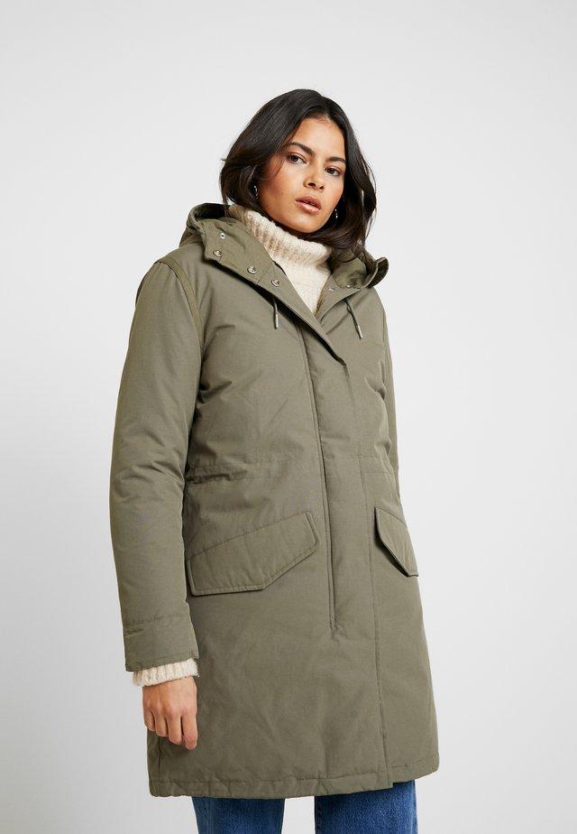 DUSTY  - Zimní kabát - olive
