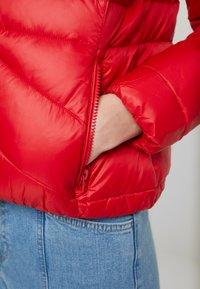 Wrangler - SHORT PUFFER - Light jacket - salsa red - 4