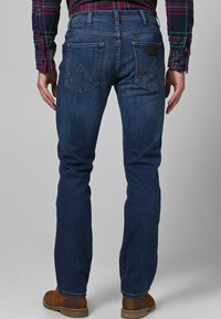 Wrangler - ARIZONA STRETCH - Straight leg -farkut - burnt blue - 2
