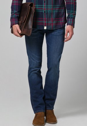 ARIZONA STRETCH - Jeans Straight Leg - burnt blue