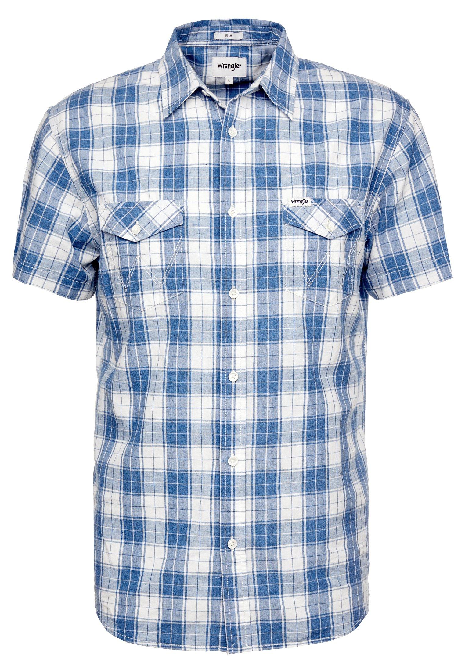 Wrangler Modern Western Shirt - Skjorter Starlight Blue