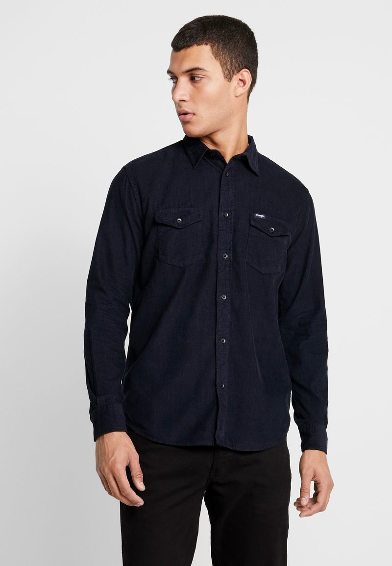 Wrangler - FLAP - Koszula - navy