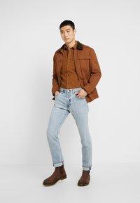 Wrangler - FLAP - Camisa - russet brown - 1
