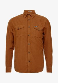 Wrangler - FLAP - Camisa - russet brown - 3