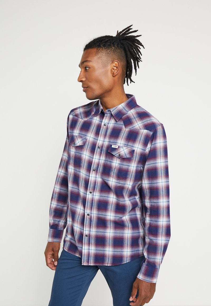 Wrangler - WESTERN - Shirt - navy