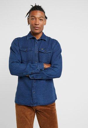 FLAP - Koszula - used indigo