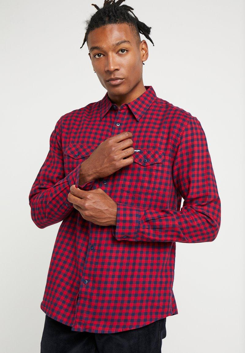 Wrangler - FLAP - Koszula - red