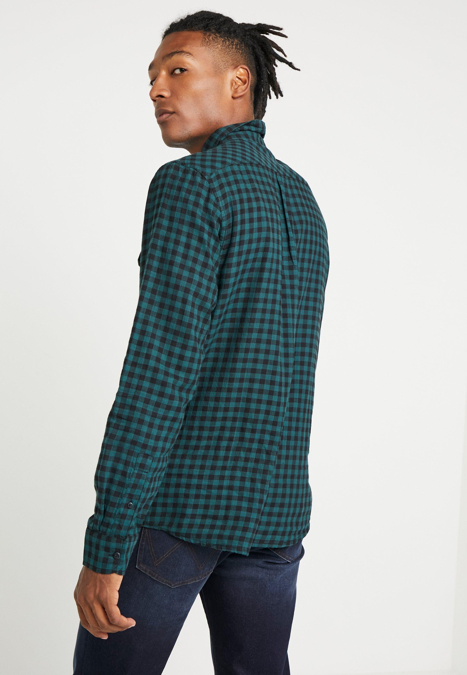 Wrangler FLAP - Koszula - pine