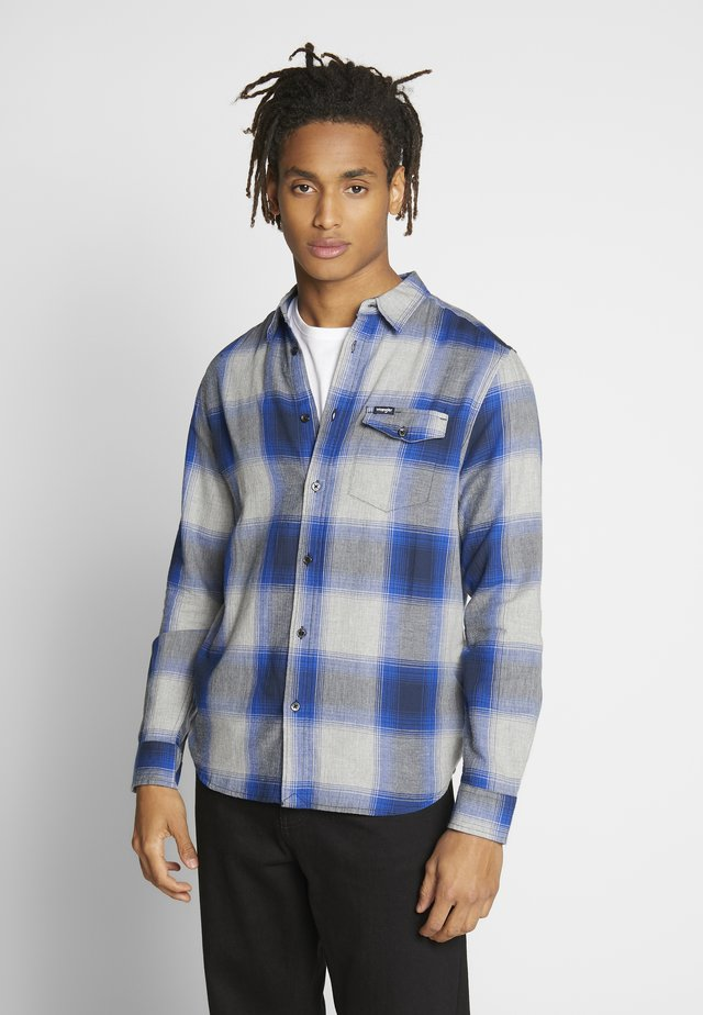 FLAP SHIRT - Skjorte - cobalt blue