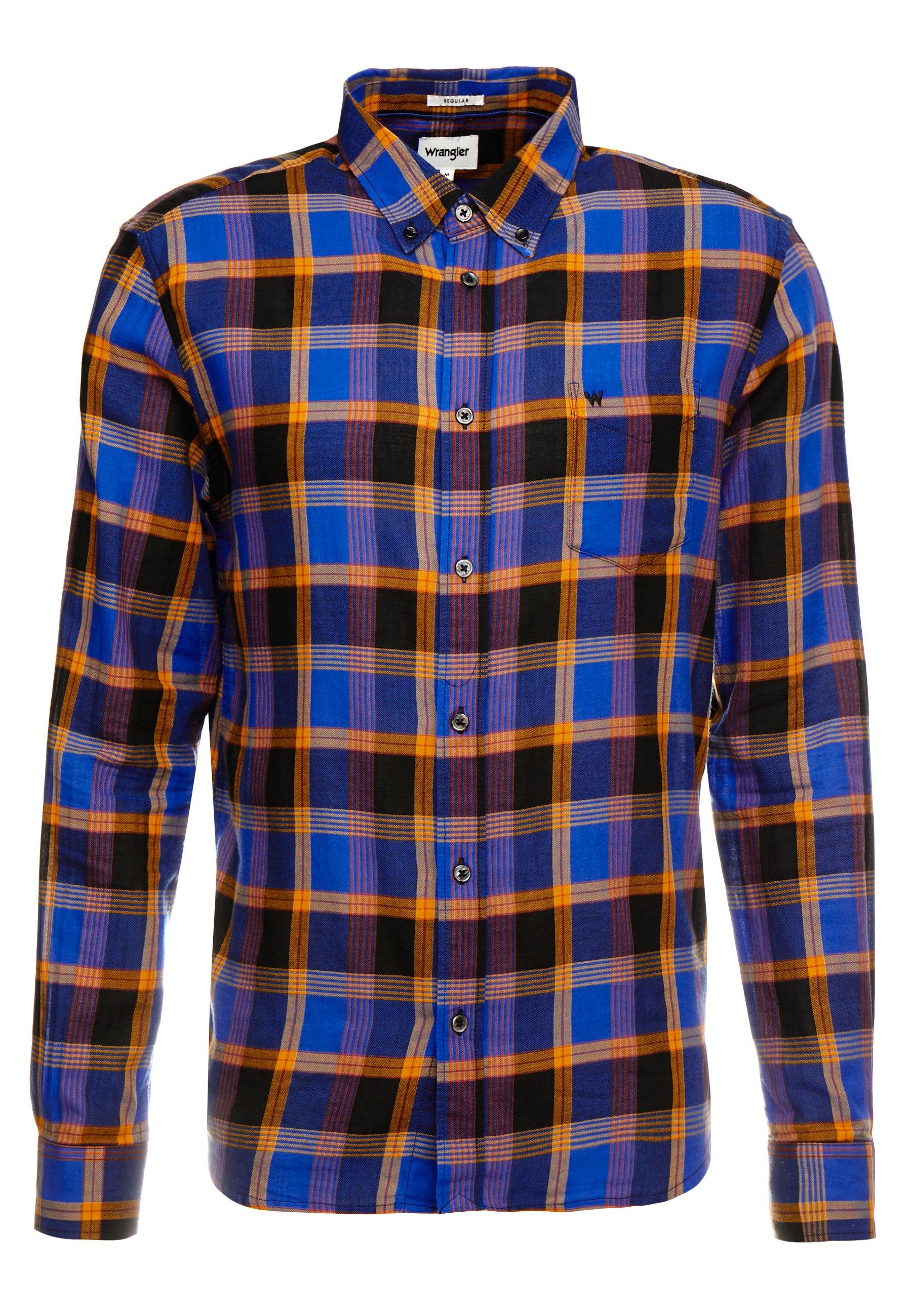 Wrangler Koszula - cobalt blue