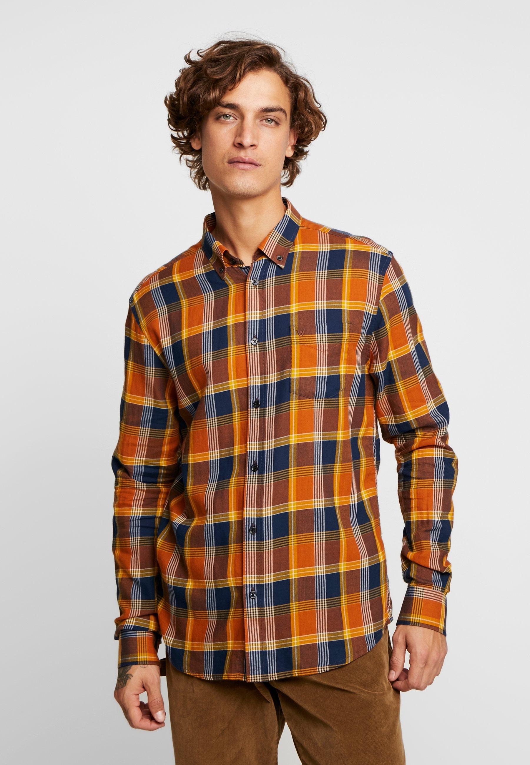 Wrangler Koszula - nutmeg brown