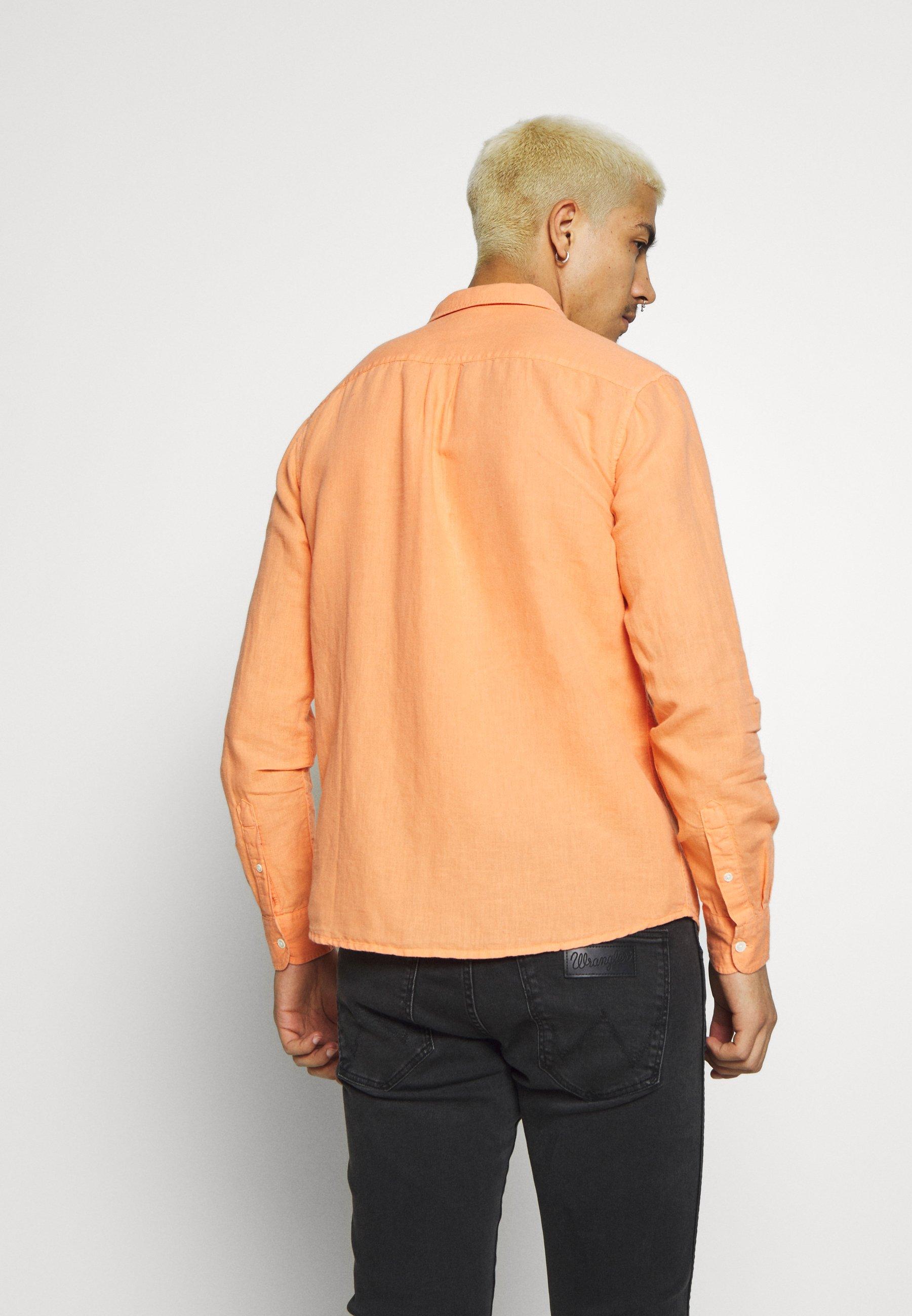 Wrangler Skjorte - Melon Orange