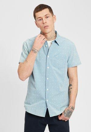Shirt - cerulean blue
