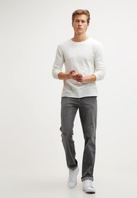 Wrangler - TEXAS STRETCH - Straight leg jeans - graze - 1