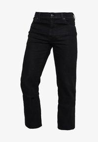Wrangler - TEXAS STRETCH - Straight leg jeans - raven - 5