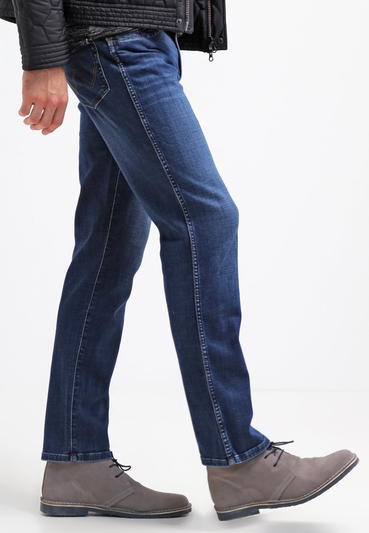 Wrangler TEXAS STRETCH - Jeansy Straight Leg - night break