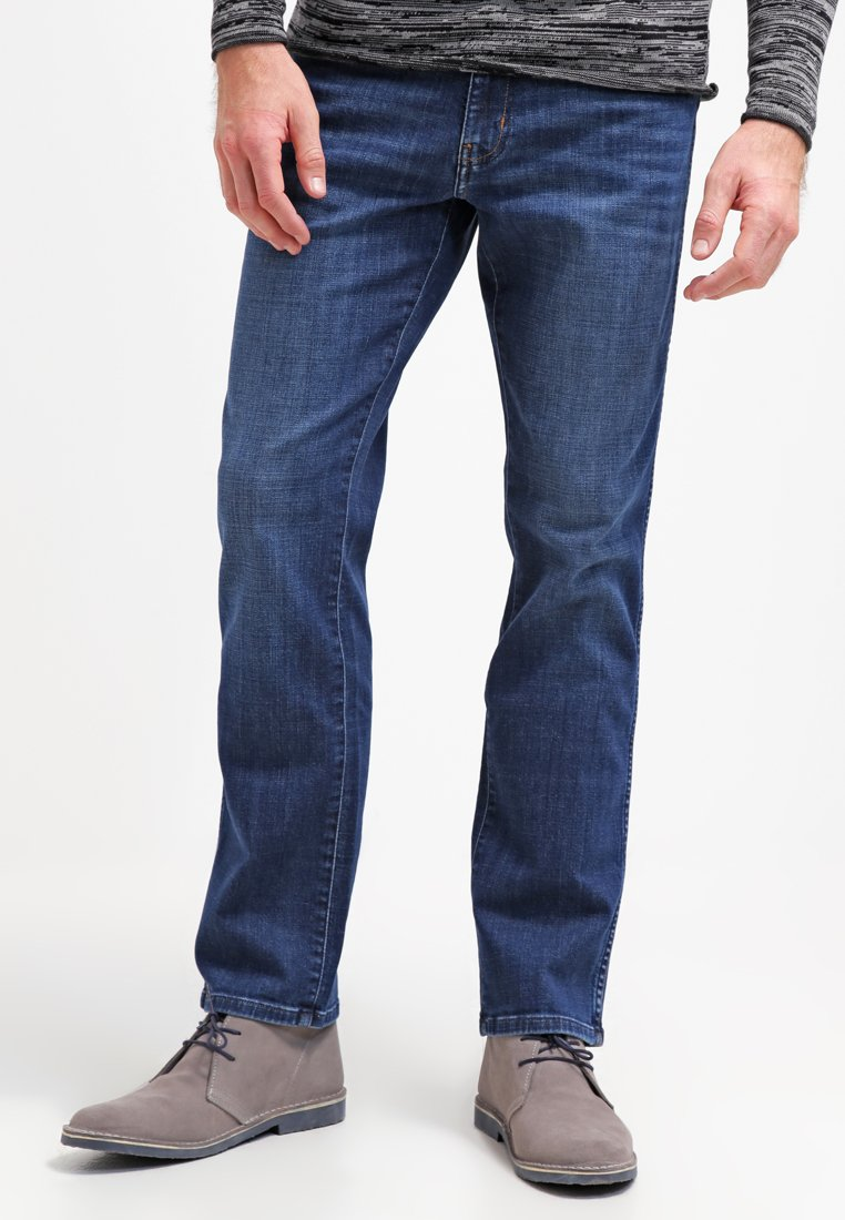 Wrangler - TEXAS STRETCH - Jeans Straight Leg - night break