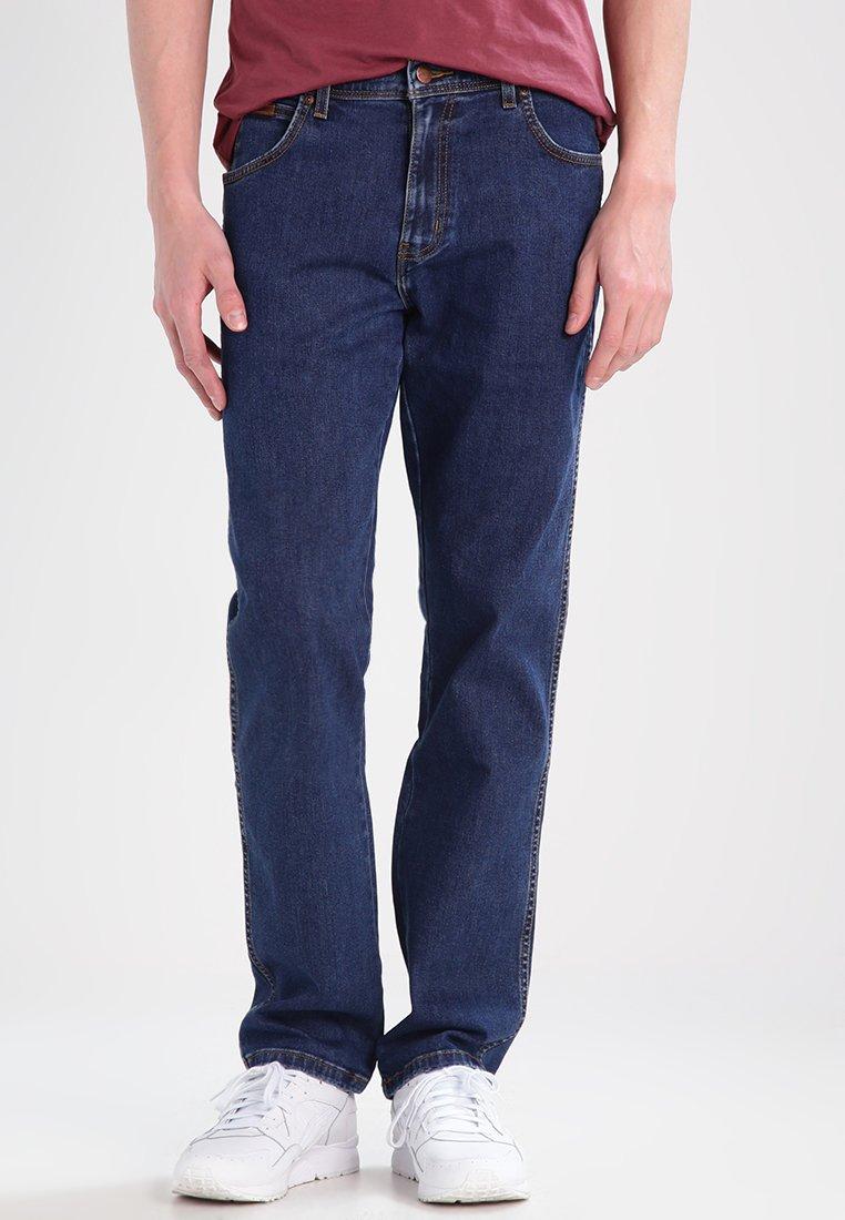 Wrangler - TEXAS STRETCH - Jeans Straight Leg - darkstone
