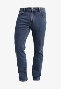 Wrangler - TEXAS STRETCH - Straight leg jeans - stonewash - 5