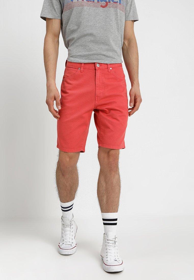 Wrangler - Denim shorts - emberglow