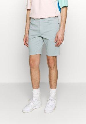 TEXAS FIT - Denim shorts - mist blue