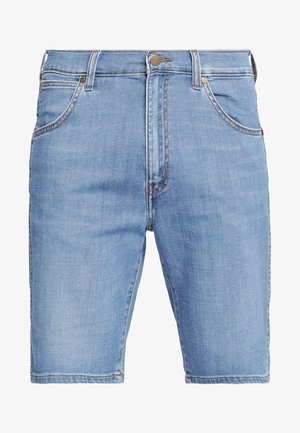 TEXAS FIT - Jeans Shorts - blue