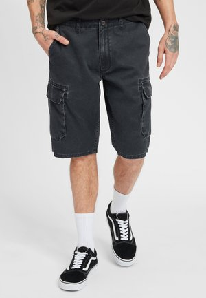TEXAS CARGO - Shorts - black