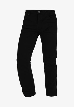 GREENSBORO - Straight leg jeans - black