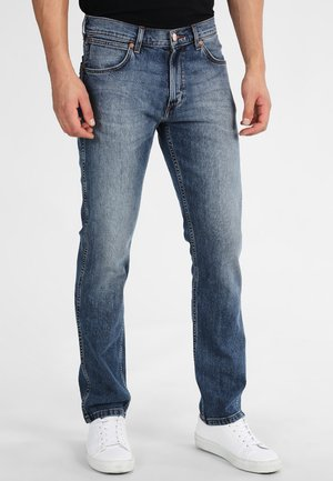GREENSBORO - Straight leg jeans - blue denim
