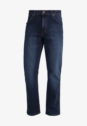 TEXAS - Bootcut jeans - dark-blue
