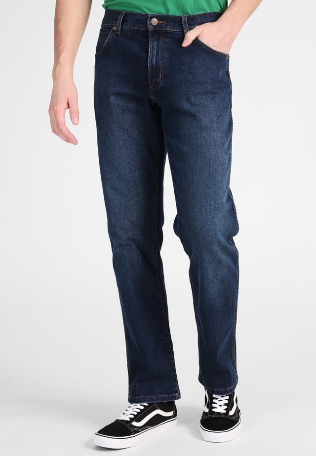 TEXAS - Jeansy Bootcut - dark-blue