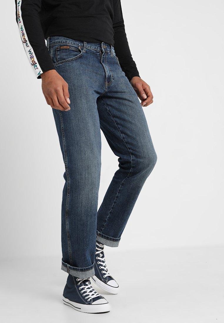Wrangler - TEXAS - Jeans Straight Leg - blue hill