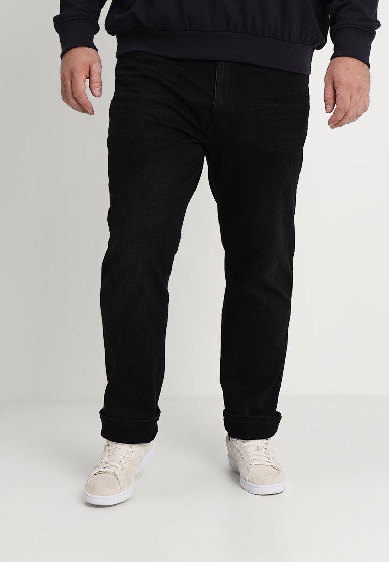Wrangler - TEXAS - Jeans Straight Leg - one-eyed black