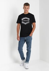 Wrangler - GREENSBORO - Straight leg jeans - midstone - 1