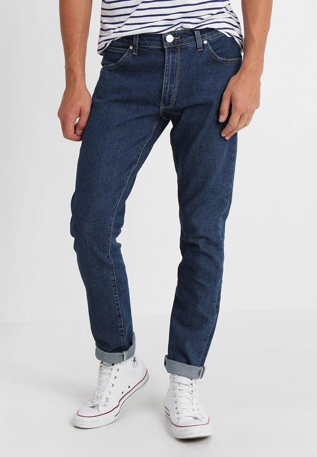 LARSTON - Jeansy Slim Fit - darkstone