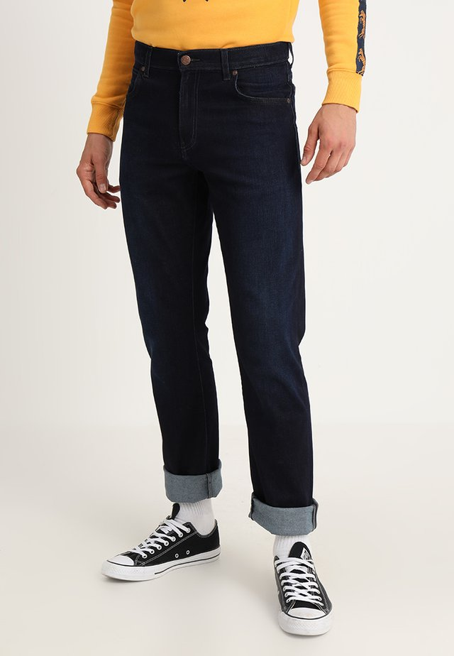 TEXAS - Straight leg -farkut - blue denim