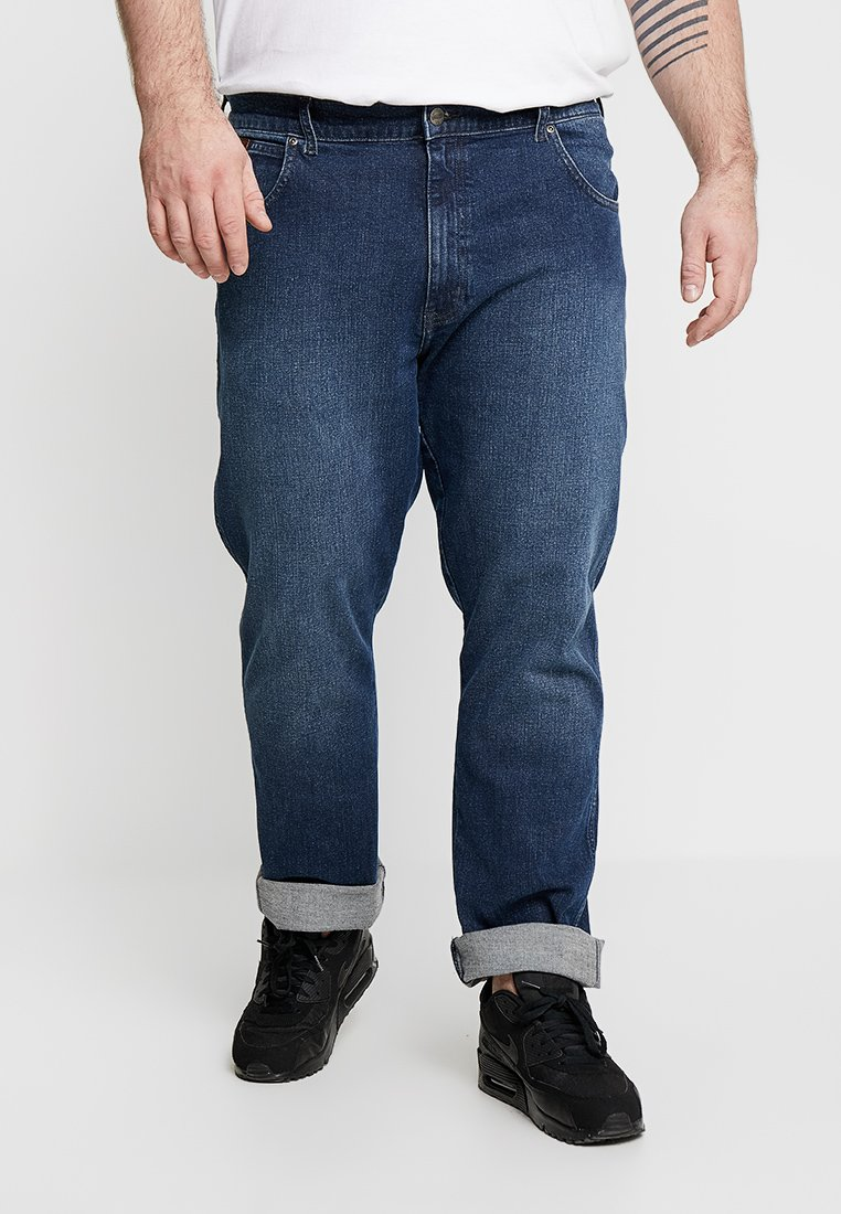 Wrangler - TEXAS - Jeans Straight Leg - bonfire blue