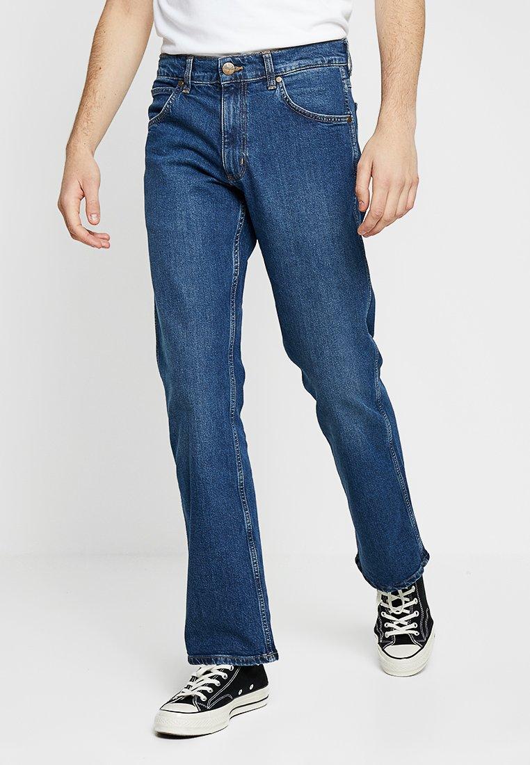 Wrangler - JACKSVILLE - Jeans Bootcut - blue heat
