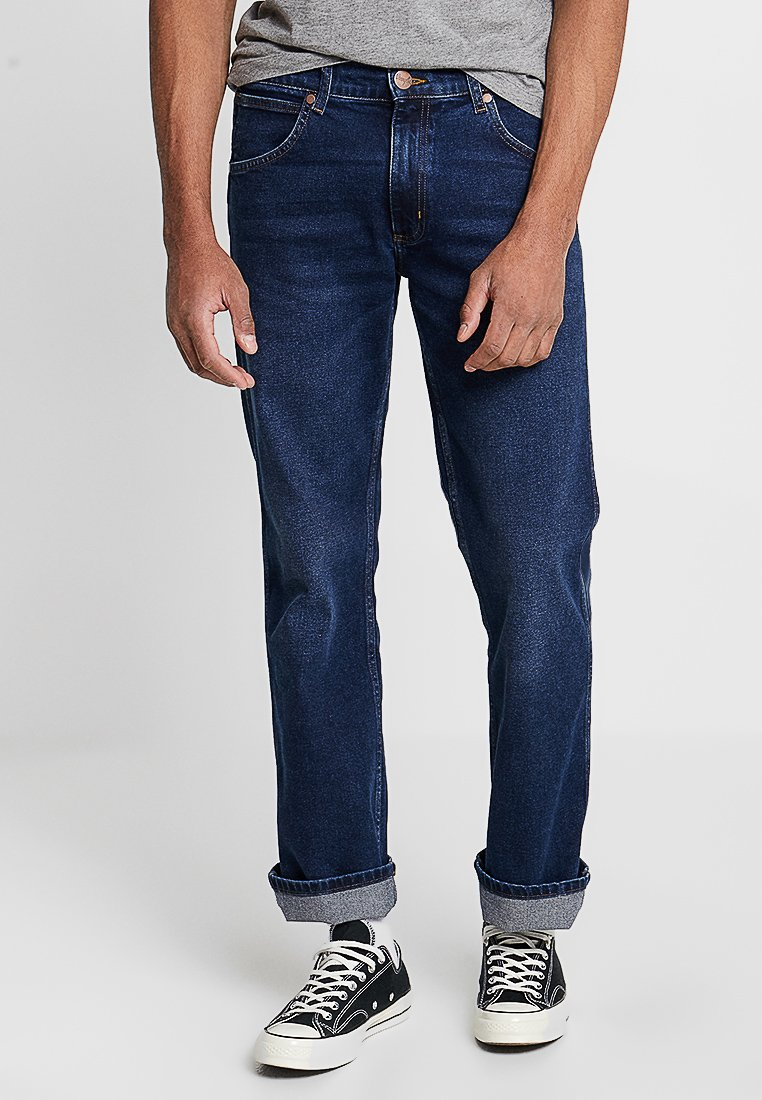 Wrangler - JACKSVILLE - Jeans Bootcut - dark blue denim