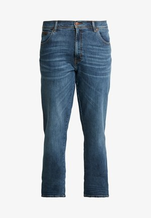 TEXAS - Straight leg jeans - green bay