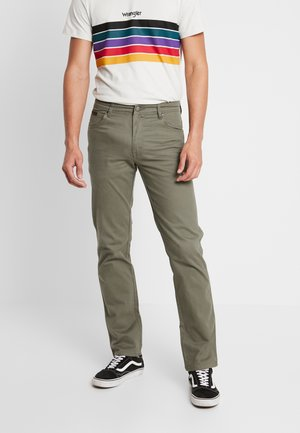 TEXAS - Jeans a sigaretta - dusty olive