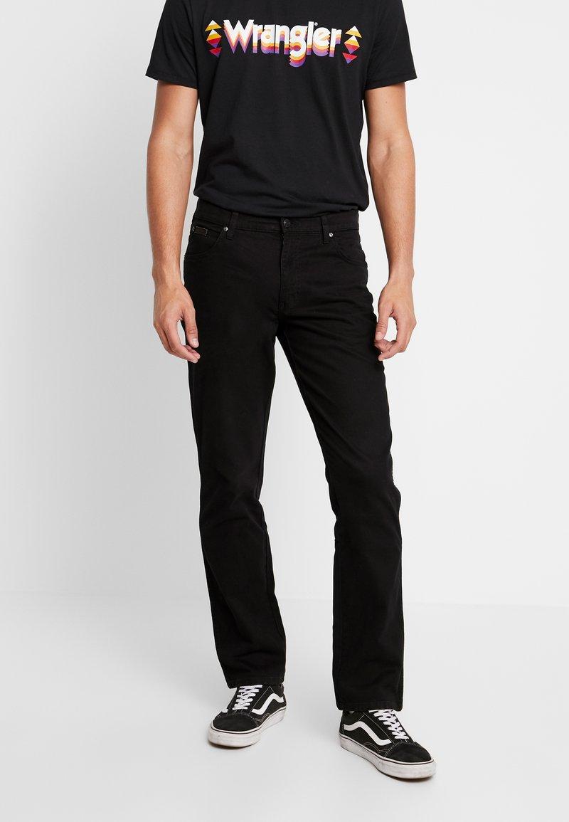 Wrangler - TEXAS - Straight leg -farkut - black