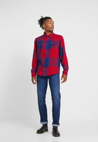 Wrangler - TEXAS - Jeansy Straight Leg - stay warm - 1